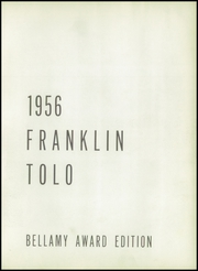 Page 7, 1956 Edition, Franklin High School - Tolo Yearbook (Seattle, WA) online yearbook collection