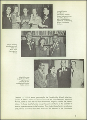 Page 8, 1956 Edition, Franklin High School - Tolo Yearbook (Seattle, WA) online yearbook collection