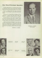 Page 11, 1957 Edition, Franklin High School - Tolo Yearbook (Seattle, WA) online yearbook collection