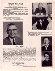 Page 9, 1960 Edition, Franklin High School - Tolo Yearbook (Seattle, WA) online yearbook collection