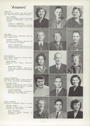 Page 9, 1949 Edition, Monroe High School - Hayu Saghalie Yearbook (Monroe, WA) online yearbook collection