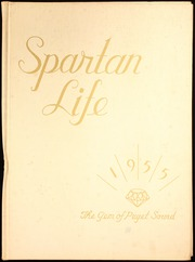 1955 Edition, Bainbridge High School - Spartan Life Yearbook (Bainbridge Island, WA)