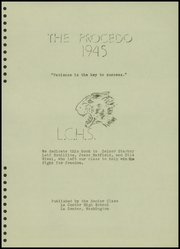 Page 7, 1945 Edition, La Center High School - Procedo Yearbook (La Center, WA) online yearbook collection