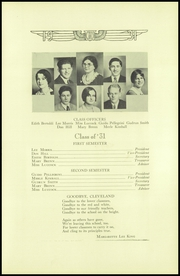 Page 11, 1931 Edition, Cleveland High School - Aquila Yearbook (Seattle, WA) online yearbook collection