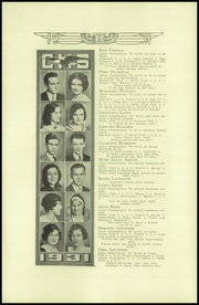 Page 14, 1931 Edition, Cleveland High School - Aquila Yearbook (Seattle, WA) online yearbook collection