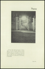 Page 9, 1934 Edition, Cleveland High School - Aquila Yearbook (Seattle, WA) online yearbook collection