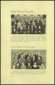 Page 12, 1936 Edition, Cleveland High School - Aquila Yearbook (Seattle, WA) online yearbook collection