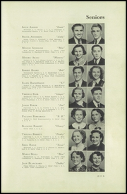 Page 15, 1938 Edition, Cleveland High School - Aquila Yearbook (Seattle, WA) online yearbook collection