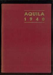 Page 1, 1940 Edition, Cleveland High School - Aquila Yearbook (Seattle, WA) online yearbook collection