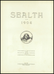 Page 11, 1904 Edition, Chief Sealth High School - Cache Yearbook (Seattle, WA) online yearbook collection