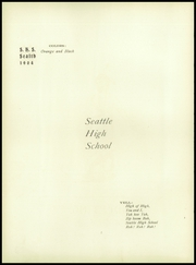 Page 12, 1904 Edition, Chief Sealth High School - Cache Yearbook (Seattle, WA) online yearbook collection