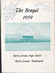 Page 5, 1959 Edition, Battle Ground High School - Bengal Yearbook (Battle Ground, WA) online yearbook collection