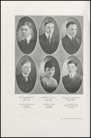 Page 128, 1917 Edition, Walla Walla High School - Royal Blue Yearbook (Walla Walla, WA) online yearbook collection