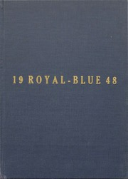 1948 Edition, Walla Walla High School - Royal Blue Yearbook (Walla Walla, WA)