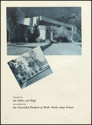 Page 8, 1953 Edition, Walla Walla High School - Royal Blue Yearbook (Walla Walla, WA) online yearbook collection