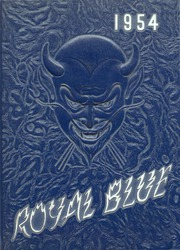 1954 Edition, Walla Walla High School - Royal Blue Yearbook (Walla Walla, WA)
