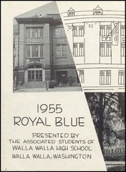 Page 6, 1955 Edition, Walla Walla High School - Royal Blue Yearbook (Walla Walla, WA) online yearbook collection