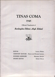 Page 13, 1948 Edition, Burlington Edison High School - Tinas Coma Yearbook (Burlington, WA) online yearbook collection
