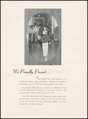 Page 9, 1954 Edition, Charles Francis Adams High School - Bantam Yearbook (Clarkston, WA) online yearbook collection
