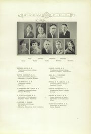 Page 15, 1926 Edition, Ellensburg High School - Klahiam Yearbook (Ellensburg, WA) online yearbook collection