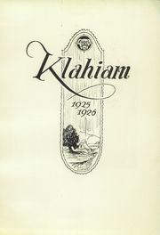 Page 7, 1926 Edition, Ellensburg High School - Klahiam Yearbook (Ellensburg, WA) online yearbook collection