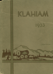 Page 1, 1933 Edition, Ellensburg High School - Klahiam Yearbook (Ellensburg, WA) online yearbook collection