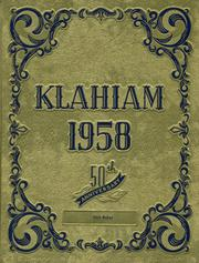 Page 1, 1958 Edition, Ellensburg High School - Klahiam Yearbook (Ellensburg, WA) online yearbook collection