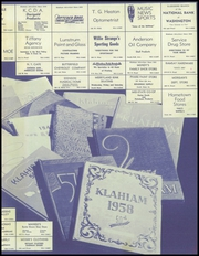 Page 3, 1958 Edition, Ellensburg High School - Klahiam Yearbook (Ellensburg, WA) online yearbook collection