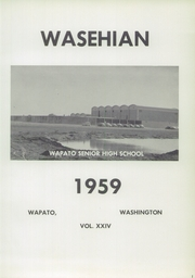 Page 5, 1959 Edition, Wapato High School - Wasehian Yearbook (Wapato, WA) online yearbook collection