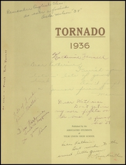 Page 3, 1936 Edition, Yelm High School - Tornado Yearbook (Yelm, WA) online yearbook collection