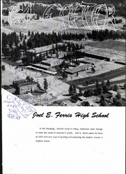 Page 5, 1964 Edition, Joel E Ferris High School - Exeter Yearbook (Spokane, WA) online yearbook collection