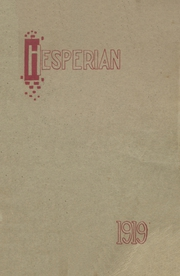 Page 1, 1919 Edition, Hoquiam High School - Hesperian Yearbook (Hoquiam, WA) online yearbook collection