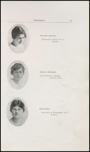 Page 15, 1919 Edition, Hoquiam High School - Hesperian Yearbook (Hoquiam, WA) online yearbook collection