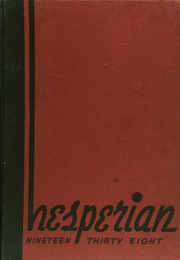 1938 Edition, Hoquiam High School - Hesperian Yearbook (Hoquiam, WA)