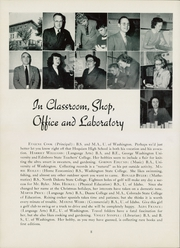 Page 12, 1949 Edition, Hoquiam High School - Hesperian Yearbook (Hoquiam, WA) online yearbook collection