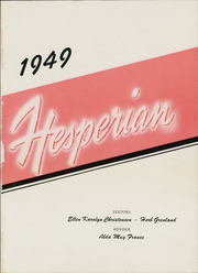 Page 5, 1949 Edition, Hoquiam High School - Hesperian Yearbook (Hoquiam, WA) online yearbook collection