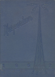 1952 Edition, Hoquiam High School - Hesperian Yearbook (Hoquiam, WA)