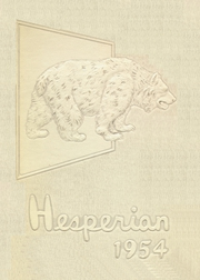1954 Edition, Hoquiam High School - Hesperian Yearbook (Hoquiam, WA)