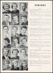 Page 16, 1955 Edition, Hoquiam High School - Hesperian Yearbook (Hoquiam, WA) online yearbook collection