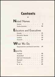 Page 7, 1955 Edition, Hoquiam High School - Hesperian Yearbook (Hoquiam, WA) online yearbook collection