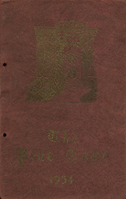 1934 Edition, Cheney High School - Pine Cone Yearbook (Cheney, WA)