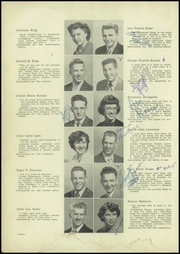Page 16, 1953 Edition, Issaquah High School - Sammamish Yearbook (Issaquah, WA) online yearbook collection