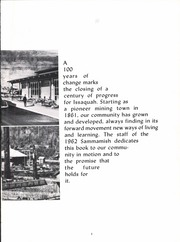 Page 9, 1962 Edition, Issaquah High School - Sammamish Yearbook (Issaquah, WA) online yearbook collection