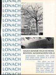 Page 5, 1970 Edition, Hazen High School - Lonach Yearbook (Renton, WA) online yearbook collection