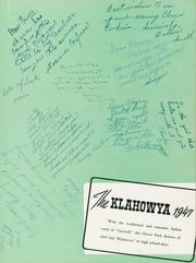 Page 5, 1947 Edition, Clover Park High School - Klahowya Yearbook (Tacoma, WA) online yearbook collection