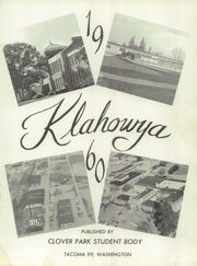 Page 5, 1960 Edition, Clover Park High School - Klahowya Yearbook (Tacoma, WA) online yearbook collection