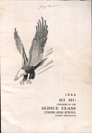 Page 3, 1944 Edition, Lynden High School - Simba Yearbook (Lynden, WA) online yearbook collection