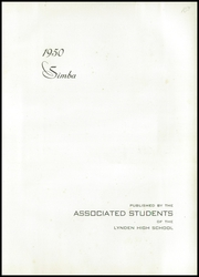 Page 5, 1950 Edition, Lynden High School - Simba Yearbook (Lynden, WA) online yearbook collection