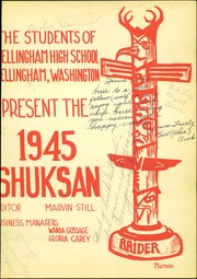 Page 5, 1945 Edition, Bellingham High School - Shuksan Yearbook (Bellingham, WA) online yearbook collection