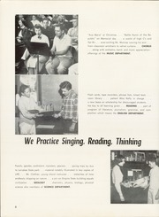 Page 10, 1955 Edition, Bellingham High School - Shuksan Yearbook (Bellingham, WA) online yearbook collection